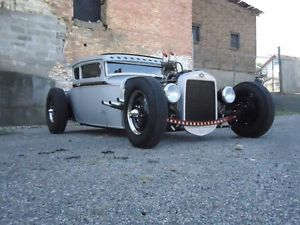 1930 Ford Model A Coupe Hot Rod Traditional Rod Rat Rod Chopped Flathead V8