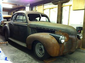 1940 Hot Rod Street Rod Rat Rod Gasser Project Barn Find  Coupe