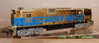 Train Tyco Golden Eagle Super 630 Diesel Locomotive HO 1980