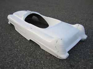 1956 Cadillac Pedal Car Hot Rod Stroller 1 4 Scale Fiberglass Body Rat Rod