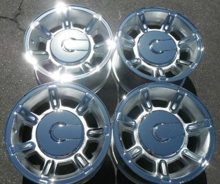 "17"" Hummer H2 H 2 GM Factory 8LUG New Chrome Wheels Rims Set 4 Purchase"