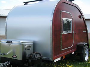 Big Woody Teardrop camper Trailer Plans