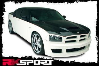 New Rksport Dodge Charger RAM Air Hood Only Fiberglass Car Body Kit 24011000