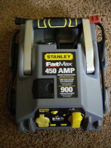 Stanley Fat Max 450 Amp Car Battery Jump Start Starter Air Compressor Pump