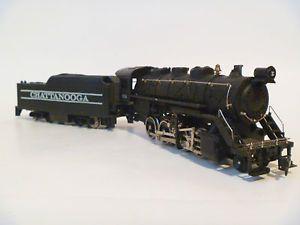 Tyco HO Scale Steam Engine Locomotive Train 638 Chattanooga Coal Tender Vin