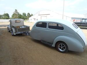 Custom Teardrop camper Trailer Hot Rod Rat Rod