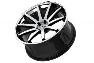 "20"" Benz E320 E350 E500 E550 E55 XO Paris Machined Concave Staggered Wheels Rims"