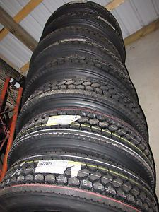 8 Tires Bridgestone 726EL 11R22 5 Semi Truck Tires 22 5 Truck Tires 22 5 Tire