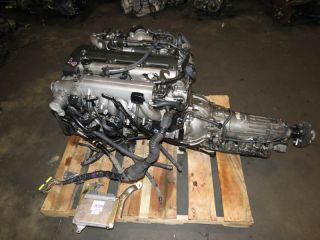 94 97 Toyota 2jz GTE Twin Turbo soarer Supra Engine A T Transmission ECU