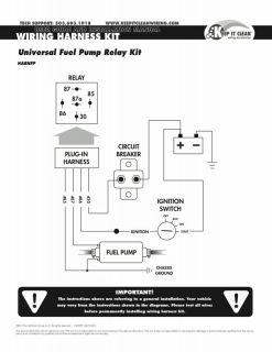Small Block Chevy Electric Fuel Pump Kit SBC 350 Late Model Dirt Race Car Parts