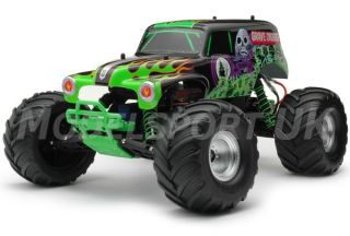Traxxas Monster Jam Grave Digger 2 4GHz TQ RTR 3604A