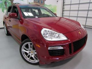 2008 Porsche Cayenne GTS Red Black 43K Only Every Option Possible