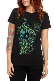 Of Mice & Men Peacock Girls T Shirt