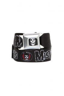 Misfits Fiend Club Logo Seat Belt Belt
