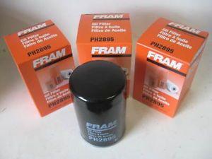 Perkins Massey Ferguson Tractor Fram PH2895 Oil Filter Lot 3 Three