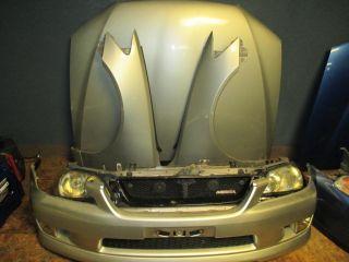 Lexus IS300 altezza JDM Front End Nose Cut Bumper Fender Hood Headlight Radiator