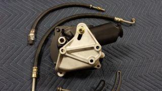 65 66 Pontiac GTO Power Steering Pump Hose Alternator Bracket Kit Rebuilt