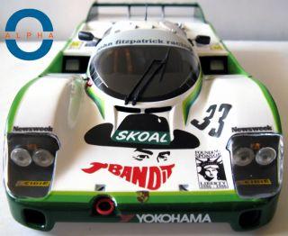 1 18 Porsche 956L Le Mans 3rd Place 84 Skoal Bandit 33
