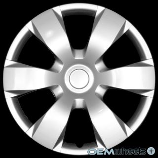 "4 New Silver 16"" Hub Caps Fits Hyundai SUV Car ABS Center Wheel Covers Set"