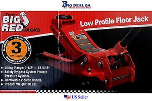 Torin Big Red 3 Ton Low Profile Floor Jack New