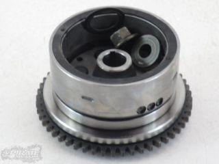 04 Yamaha YFM 660 660R Raptor Engine Flywheel w Starter Clutch 47