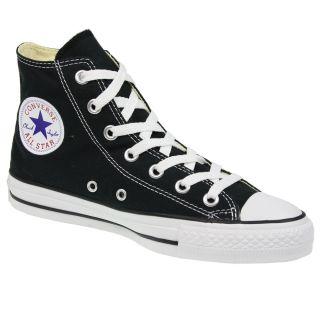 Mens Womens Converse All Star Chuck Taylor Canvas M9160 Black Hi Top Boots Shoes