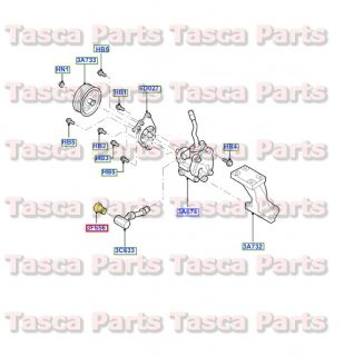 New Power Steering Pump Pressure Hose Connector 3 0L 2001 2004 Ford Escape
