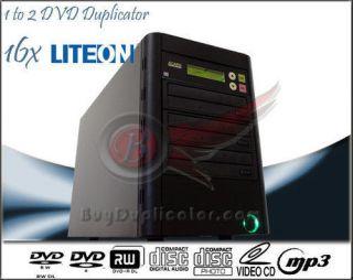 1 to 2 Lite on SATA 16x Burner CD DVD Duplicator Copier Laser Lens Cleaner Kit