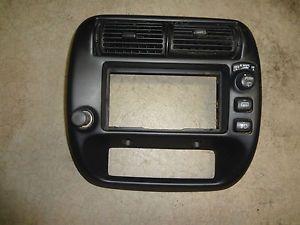 95 04 Ford Ranger Explorer Dash Radio Climate Bezel Trim Fog Light Panel