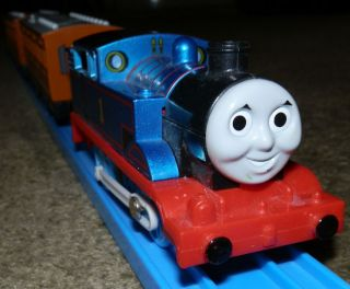 Real Steam Tomy Trackmaster 60th Anniversary Steam Along Thomas Tank Engine