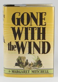 Gone with The Wind Margaret Mitchell 1st 1st Edition May 1936 Hardcover GWTW