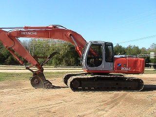2002 Hitachi EX200LC 5 Hydraulic Excavator