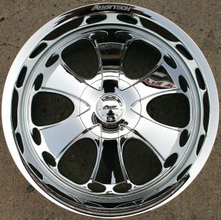 Alloy Tech AT955 20 x 9 0 Chrome Rims Wheels Ford F150 F 150 04 Up 6H 25