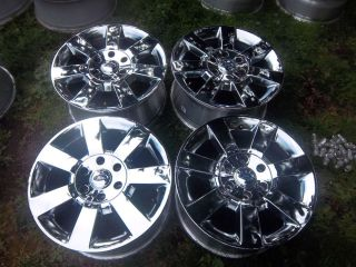 18 Ford Expedition F150 Chrome Factory Alloy Wheels Rims 3560 04 12 3658