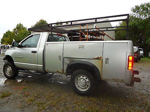 Ford Chevy Dodge RAM 2500 Stahl Utility Service Bed Body Tool Box Mechanic