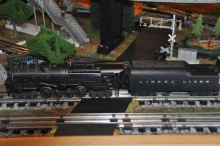 Lionel Scarce Postwar 671 RR Steam Turbine Engine with 2046W Tender Runs X