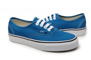 Vans Shoes Authentic Moroccan Blue True White