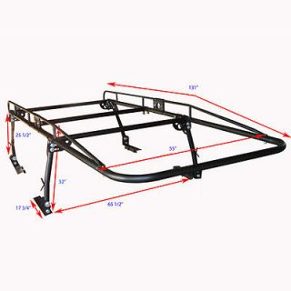 Full Size Truck Heavy Duty Contractor Pickup Cab Rack Kayak Lumber Ladder Tool