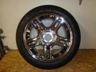 """20"""" Ford F150 01 02 03 Harley Davidson Chrome Wheel Tire Spare Replacement"""