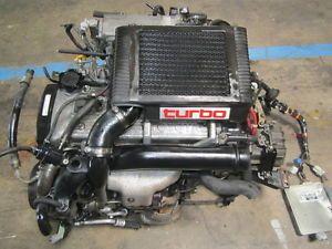 Toyota Starlet Paseo Tercel Turbo 1 3L Turbo Engine Transmission ECU JDM 4EFTE