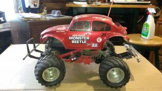 Tamiya Monster Beetle RC Car