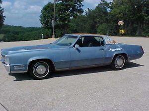 1969 Cadillac El Dorado Running Driving Project Car Parts Car Rat Rod No Res