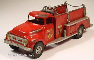 Tonka Toys 1956 Suburban Pumper Fire Truck STGP01