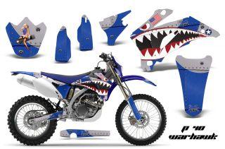 AMR Racing MX Dirt Bike Decal Sticker Graphic Yamaha WR 250 450f 07 11 PWU