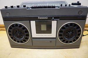 Vintage Panasonic Boombox Stereo Radio Model RS 466 As