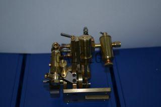 New Twin Cylinder Marine Steam Engine with Steam Boiler Feed Pump