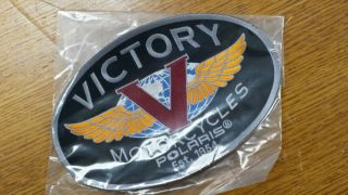 Discontinued Heritage Victory Motorcycles Logo Patch