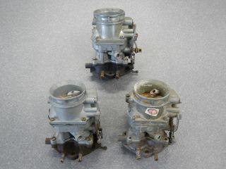 Ford Holley 94 Carburetor Model 8BA Flat Head Hot Rod Rat Rod Carb 3 Carbs