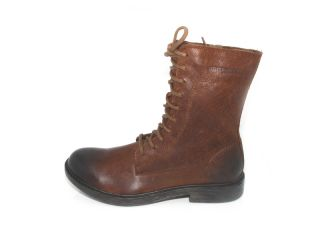Harley Davidson Custer Mens Brown Leather Motorcycle Boots Size 10 5