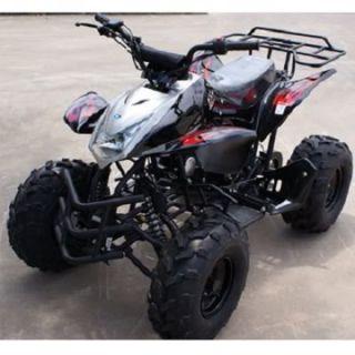 110 CC Sporty Quad ATV 4 Wheel 125H Big Wheel Semi Auto